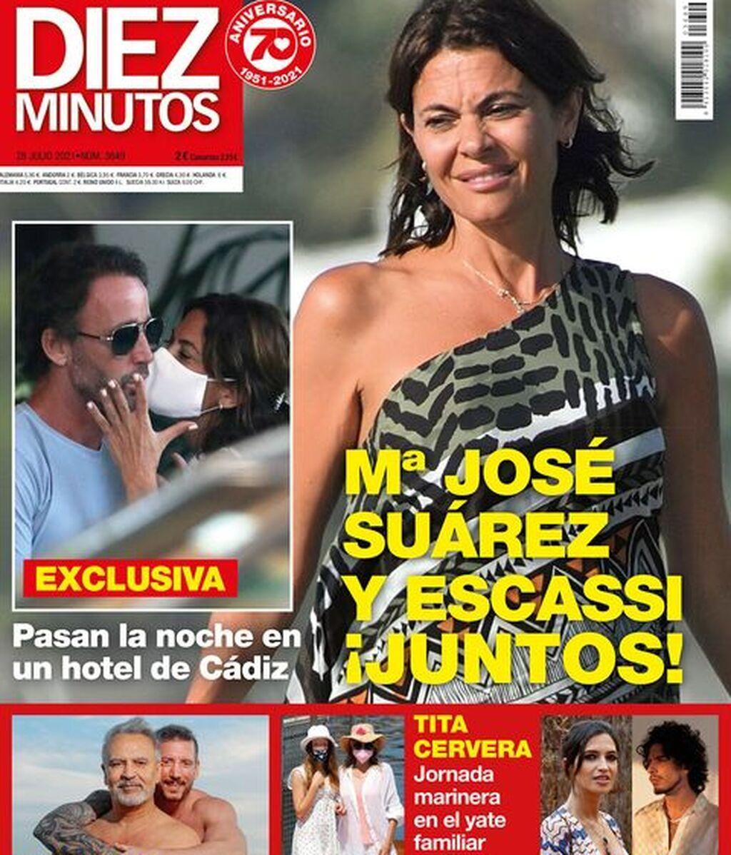 María José Suárez y Álvaro Muñoz Escassi