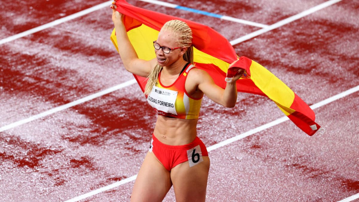 Adiaratou Iglesias se proclama campeona paralímpica de los 100 metros T13