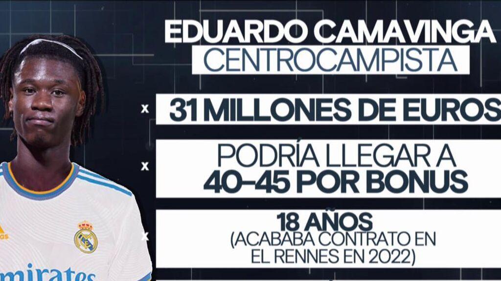 El Real Madriid hace oficial el fichaje de Eduardo Camavinga