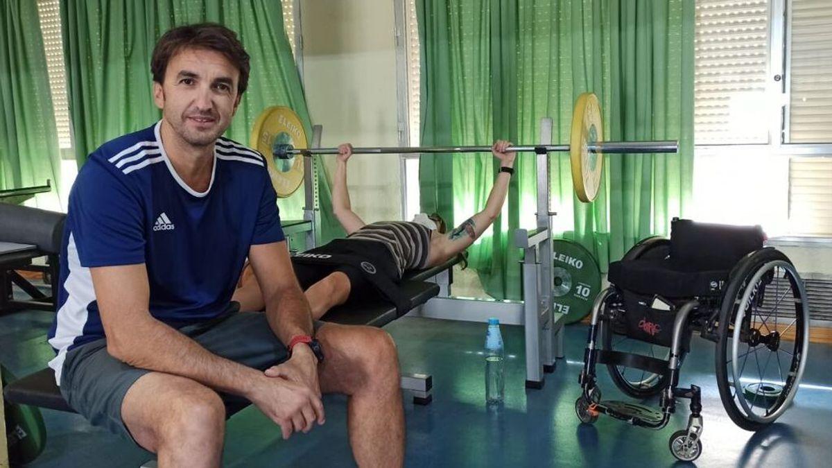 La otra estrella de los Paralímpicos, el monitor del Hospital de Parapléjicos de Toledo al que todos recuerdan
