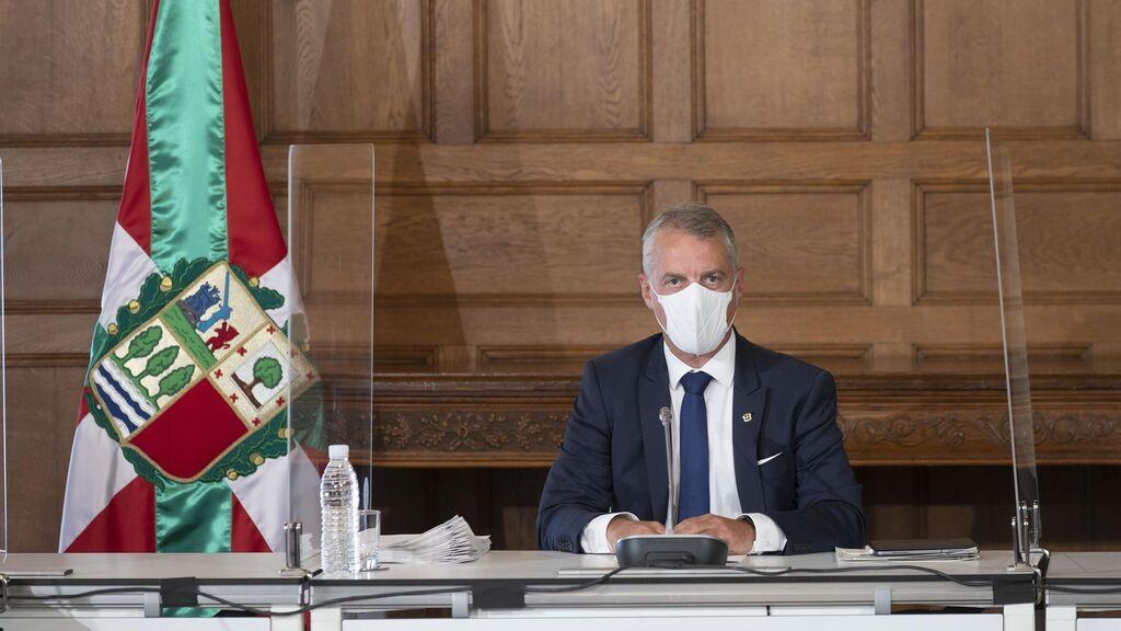 El lehendakari preside el Consejo de Gobierno celebrado en el Palcio Miramar