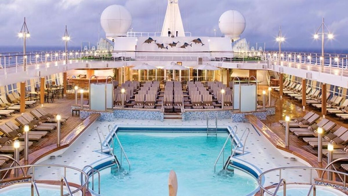 Los cruceros más lujosos del mundo