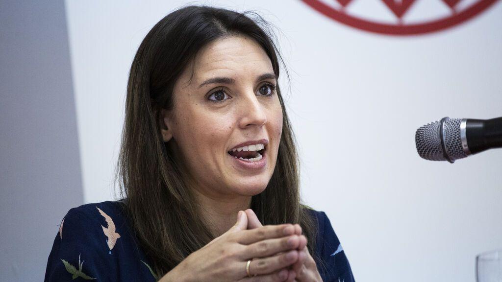 Irene Montero compara la situación de la mujer en Afganistán con España