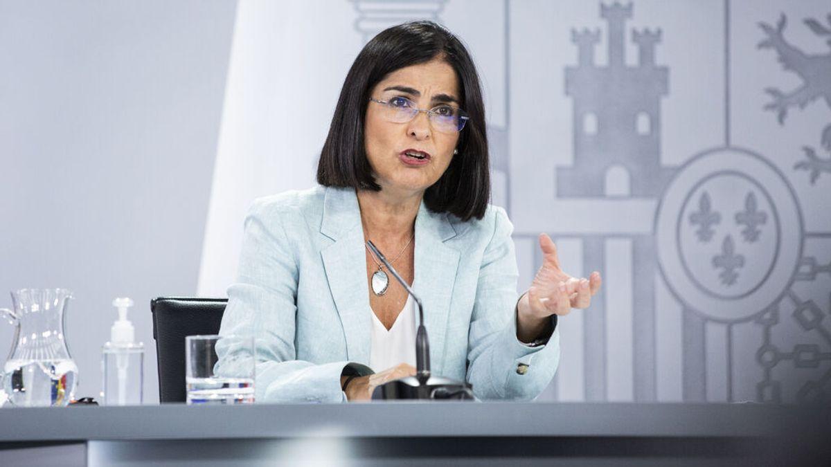 En directo: Darias comparece en la Comisión de Sanidad del Congreso
