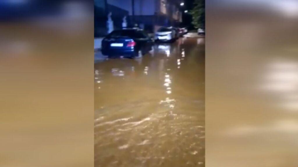 Rayos, truenos y mucha lluvia esta noche en prácticamente toda la península por culpa de la DANA