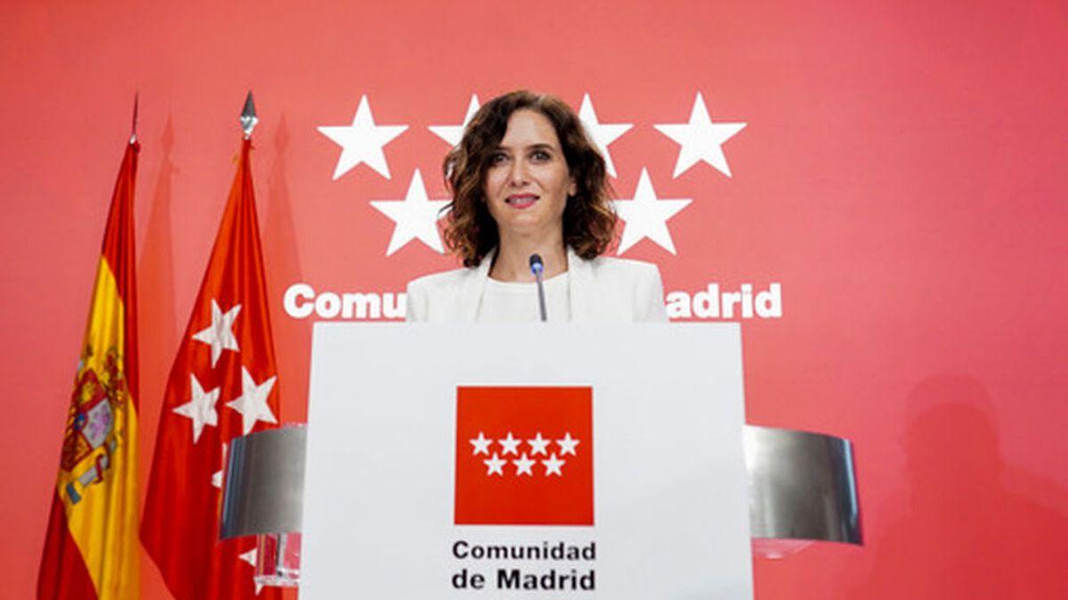 Madrid anuncia que ampliará aforos en hostelería y cultura a mediados de septiembre