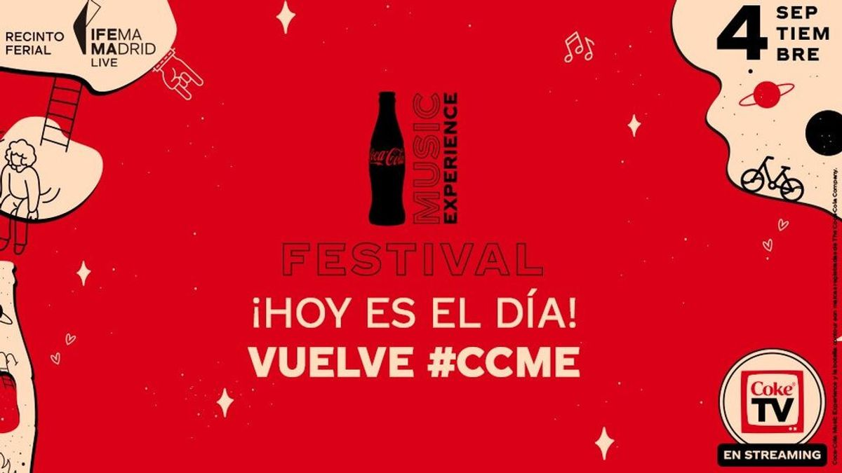 Nadie sin entrada para el Festival Coca-Cola Music Experience: disfruta del evento en streaming y no te lo pierdas