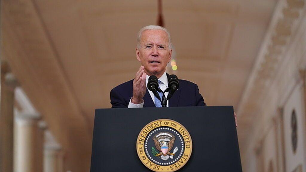 """Joe Biden define la evacuación de Afganistán de """"éxito increíble"""" y se reafirman en su decisión de acabar la guerra"""