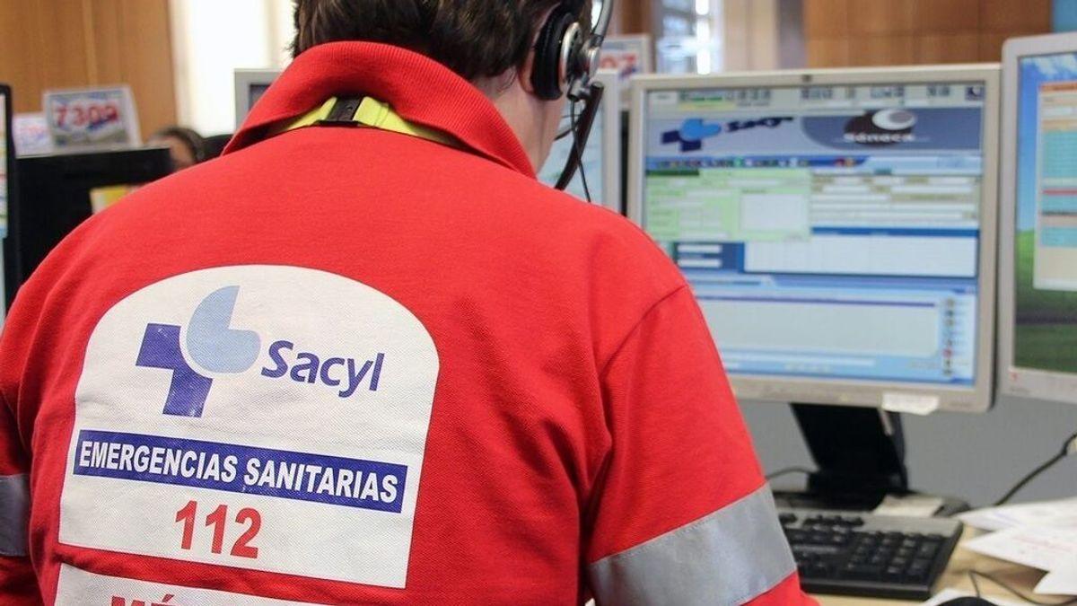 Dos muertos y tres heridos graves en un choque entre un camión, un taxi y un turismo en Segovia