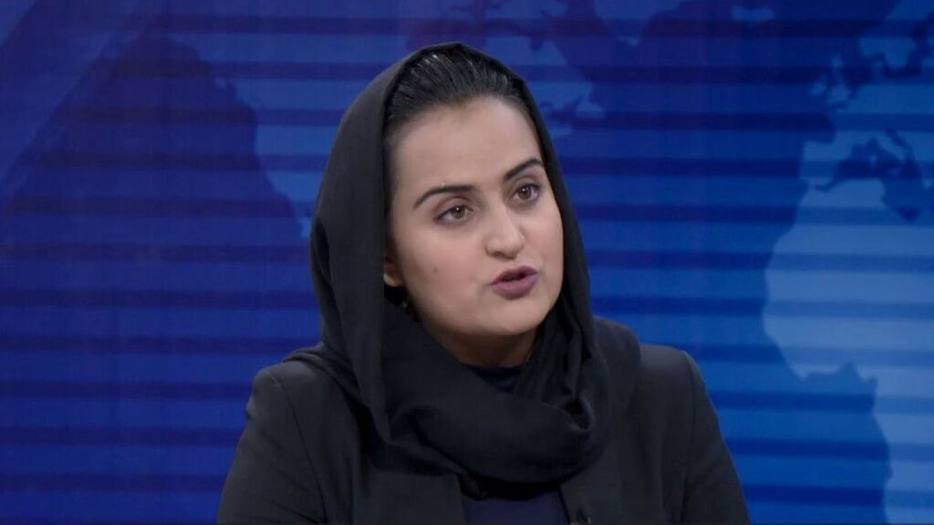 Beheshta Arghand, la periodista afgana que vive como refugiada en España
