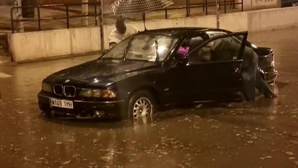 Las lluvias afectan al suroeste de la Comunidad de Madrid