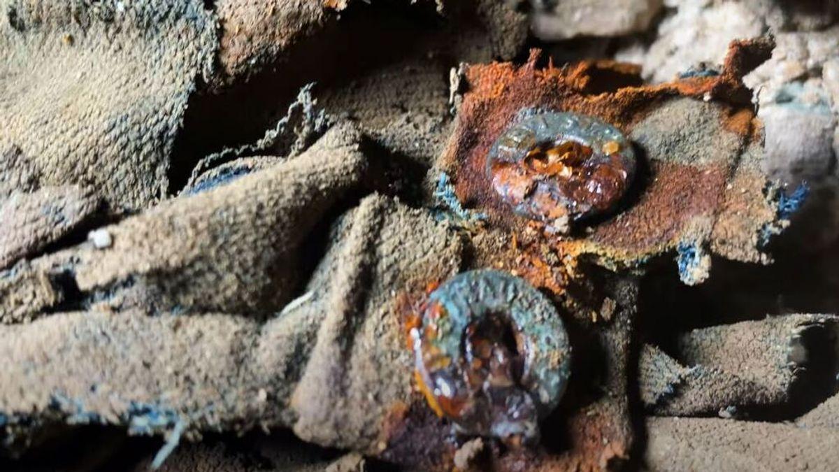 Encuentran unos pantalones  Levi's Strauss en una mina abandonada con más de 100 años