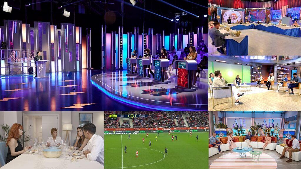 Telecinco alcanza en agosto su tercer año de liderazgo consecutivo