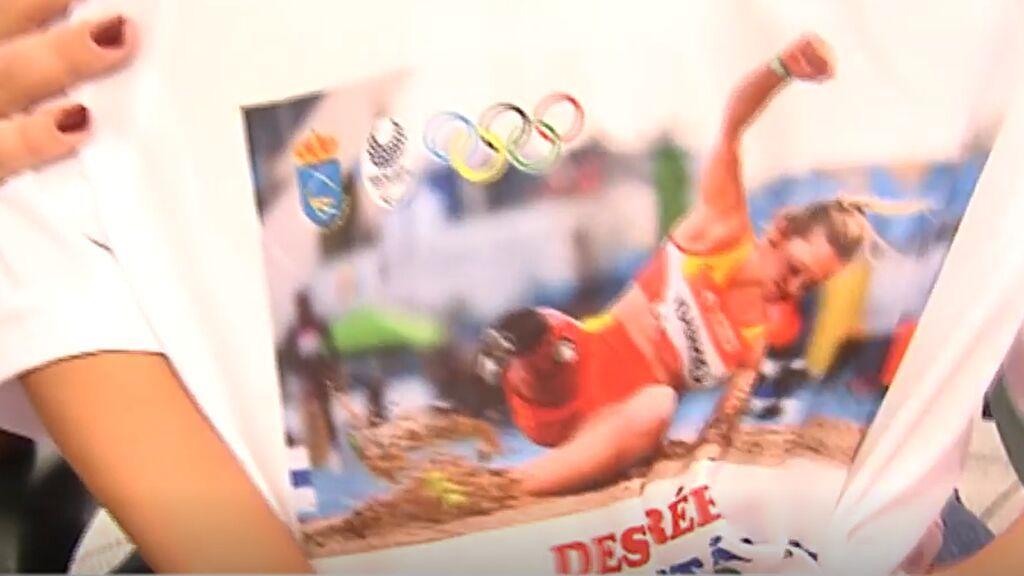 Desiree inspira a todo un pueblo que siguió en vilo su participación en los Juegos Paralímpicos