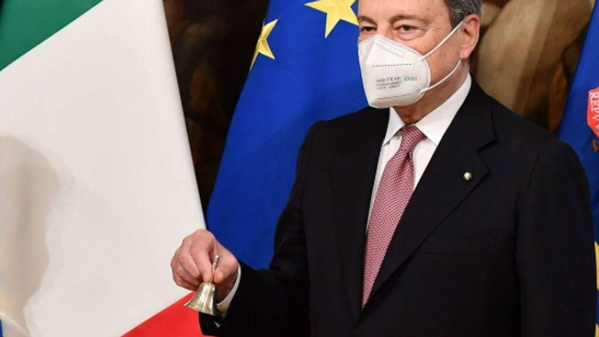 Mario Draghi anuncia que la vacuna contra el covid acabará siendo obligatoria en Italia