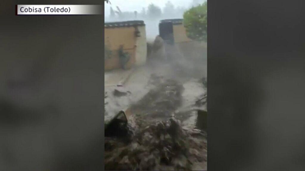 """El grito desgarrador de un vecino de Toledo al ver su casa arrasada por la Dana: """"¡Socorro!"""""""