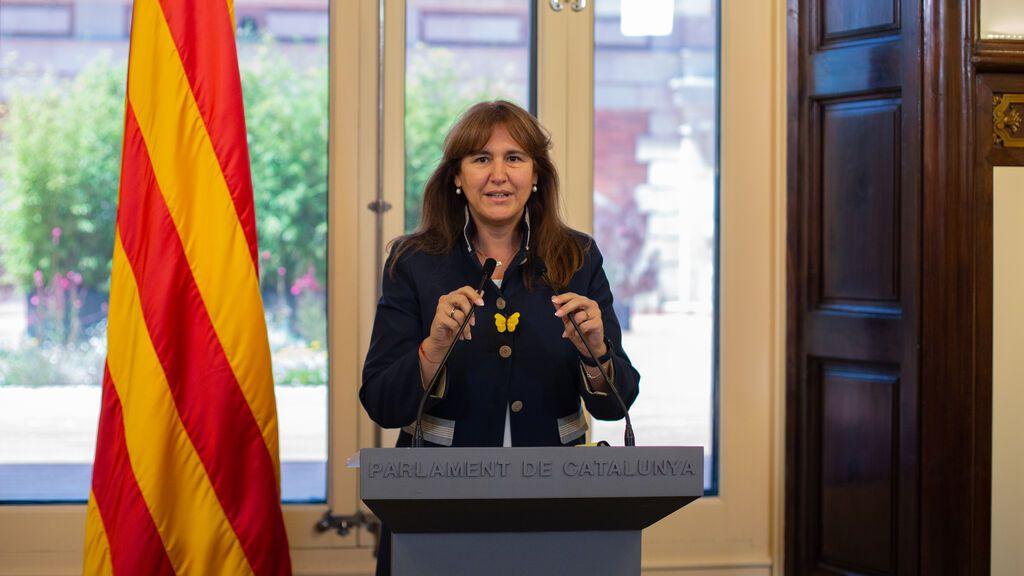 """El Parlament catalán concede la Medalla de Honor de 2021 a las """"víctimas de la represión"""" del 1-O"""