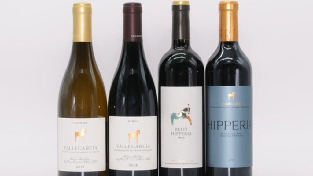 Botellas de vino de Vallegarcía