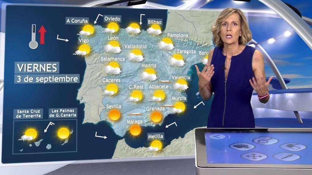 Adiós a la Dana, pero no a las tormentas: el tiempo que hará el viernes en España