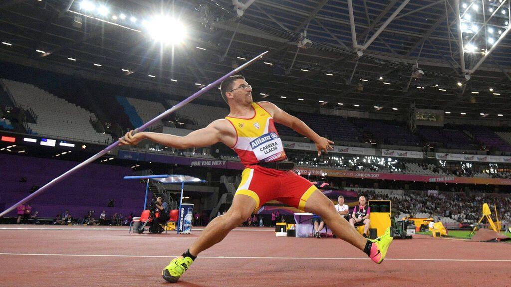 Héctor Cabrera se lleva la medalla de bronce en jabalina en los Juegos Paralímpicos