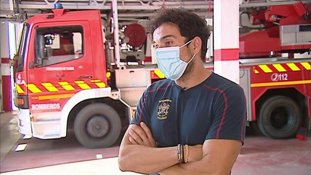 """Un bombero, sobre el caos vivido en las carreteras de Toledo por la DANA: """"El agua tenía mucha fuerza"""""""