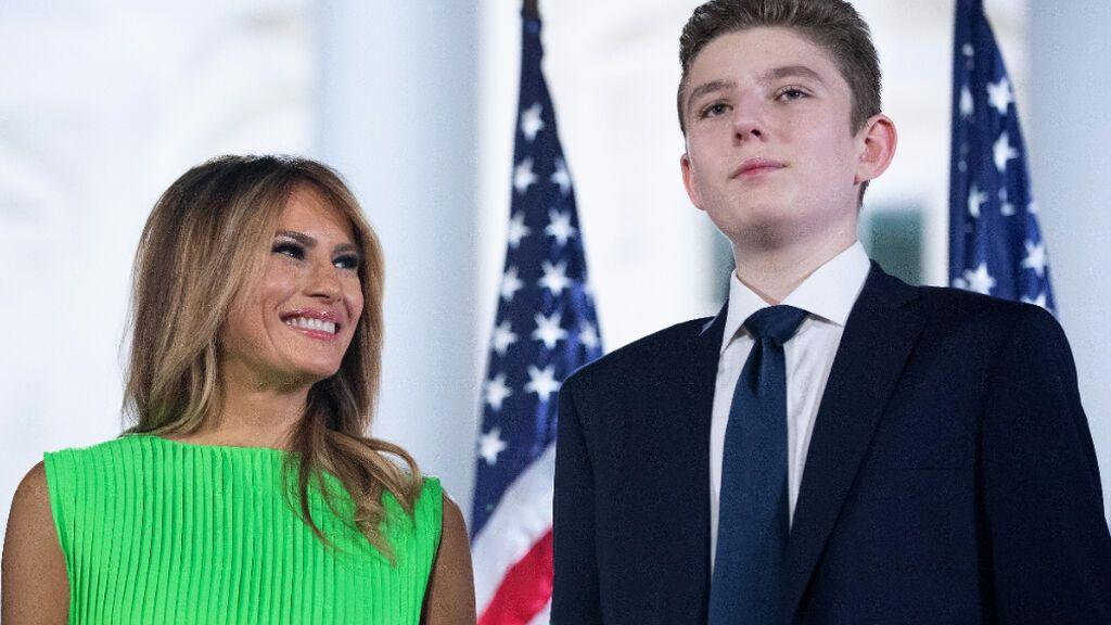 Barron, el hijo de Donald Trump, ingresará en una escuela acusada de aceptar sobornos y cambiar calificaciones