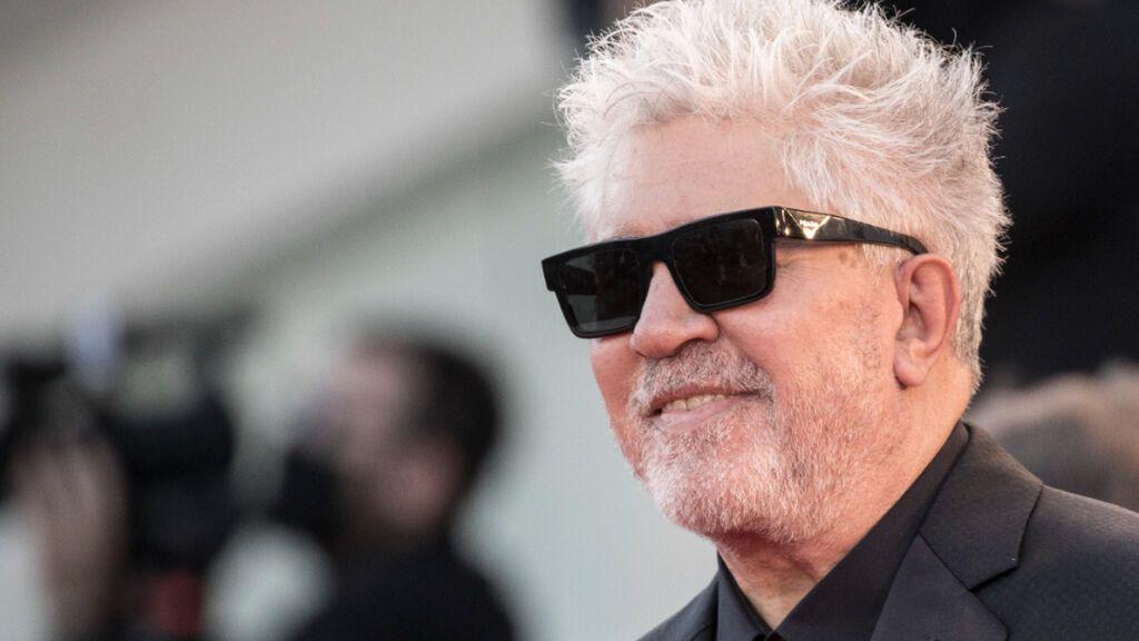 Pedro Almodóvar, en la presentación de la película 'Madres paralelas' en el Festival de cine de Venecia
