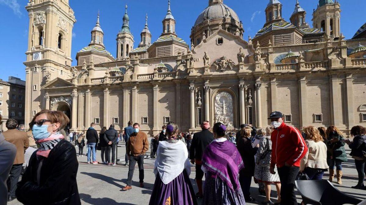 Aragón suspende las fiestas patronales de octubre, incluidas las del Pilar Zaragoza