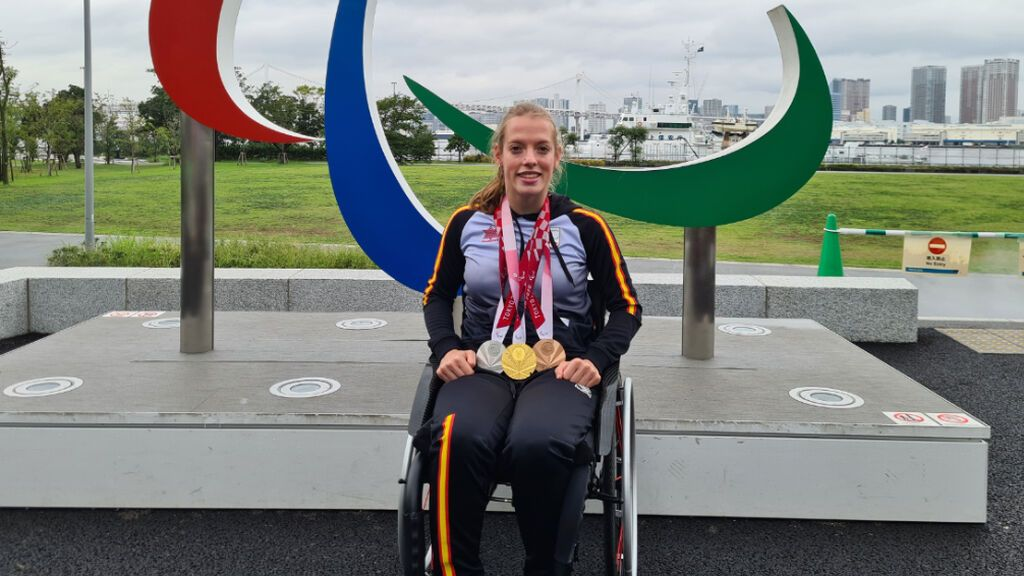 Marta Fernández, la debutante en unos Juegos Paralímpicos que ha hecho historia en Tokio