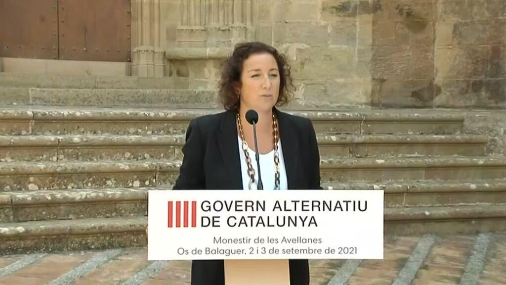"""El PSC acusa a Borràs de """"dividir"""" a los catalanes con la Medalla de Honor del Parlament"""