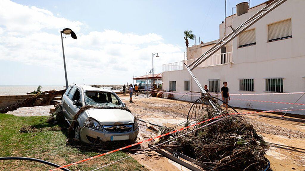 En Benicassim se comienza de cero tras el paso de la DANA