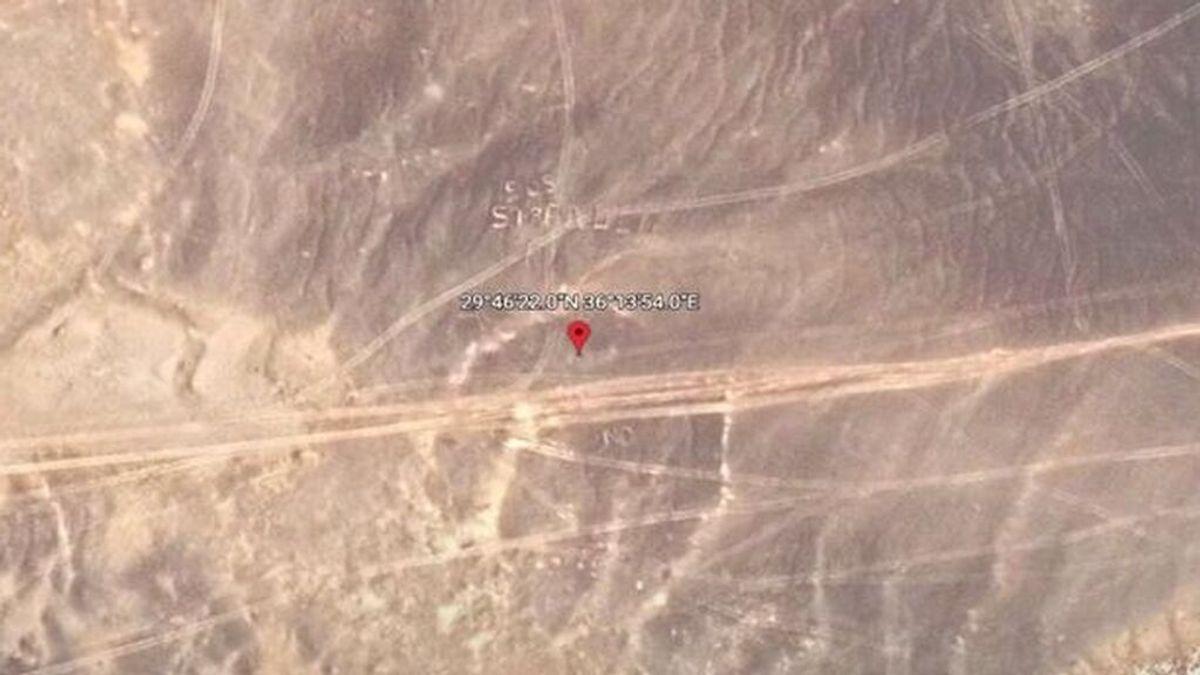 Nuevo misterio en Google Earth: un cartel de SOS en un desierto remoto