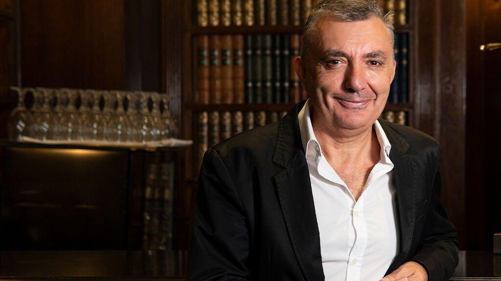 Manuel Vilas, con Uppers