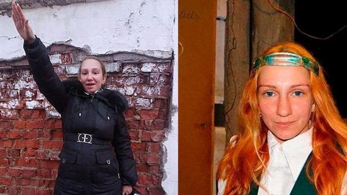Descubren a una madre neonazi que obligaba a su hija a vivir como un gato