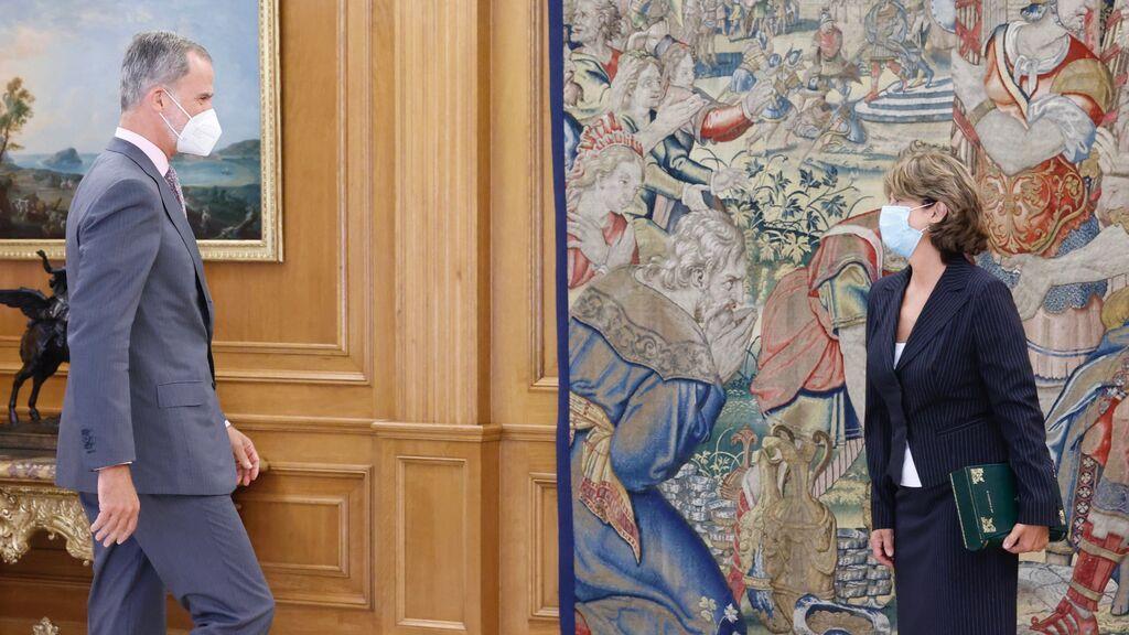 Felipe VI recibe a la fiscal general en medio de nuevos datos que salpican al rey emérito por cobro de comisiones