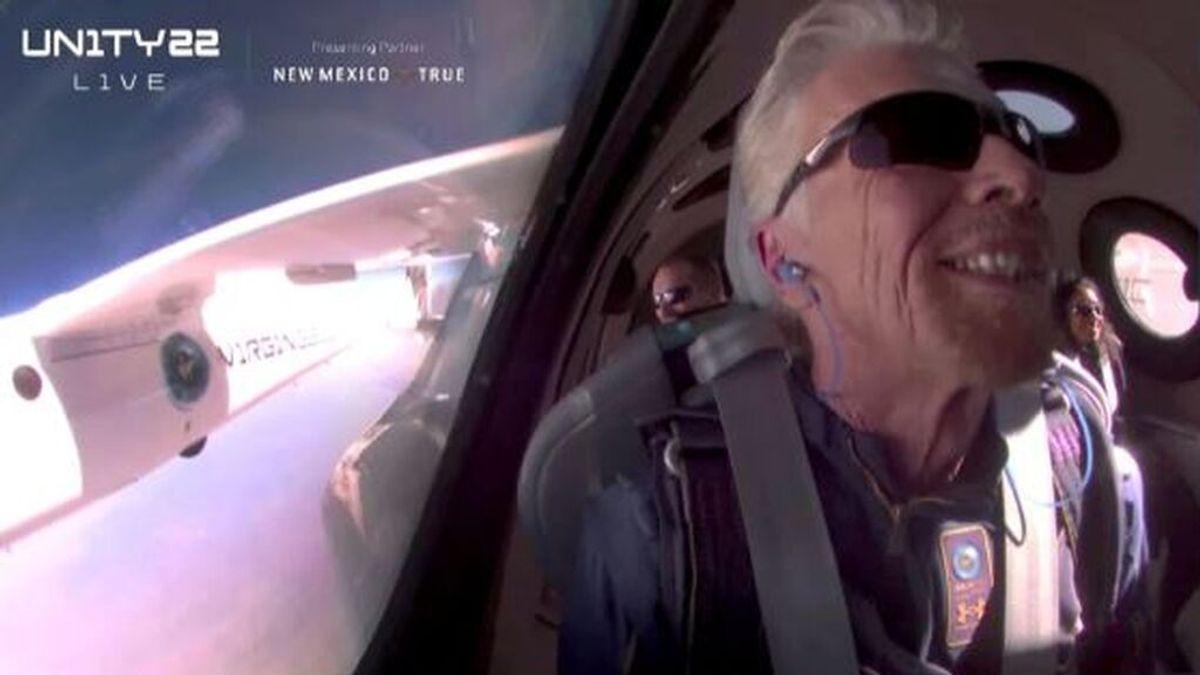 Se desinfla el fenómeno espacial de Richard Branson por problemas técnicos en el Virgin Galactic