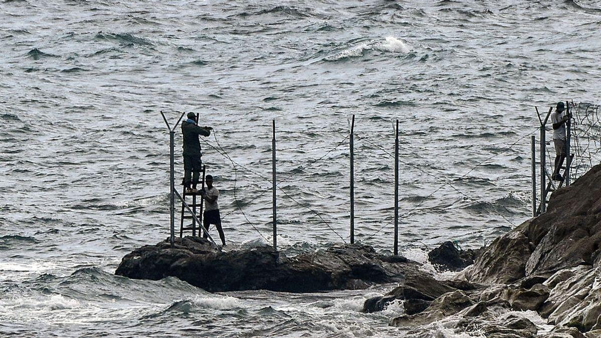 Un joven marroquí fallece al intentar cruzar a nado a Ceuta por El Tarajal