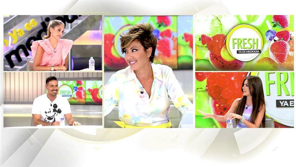 Alexia Rivas se estrena en 'Ya es mediodía'