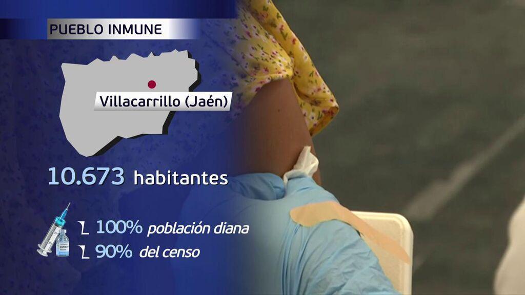 Villacarrillo, en Jaén, tiene el 90% del censo vacunado frente al coronavirus
