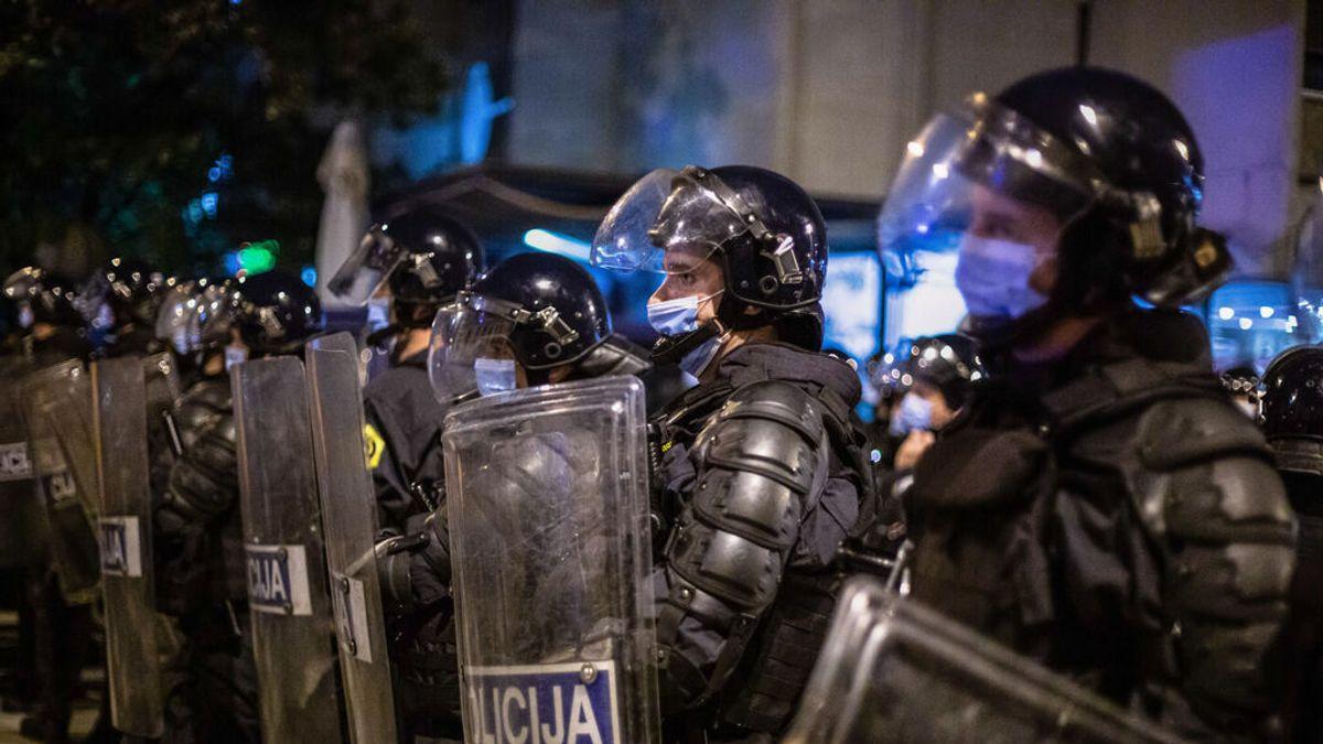 Los antivacunas asaltan la televisión pública en Eslovenia