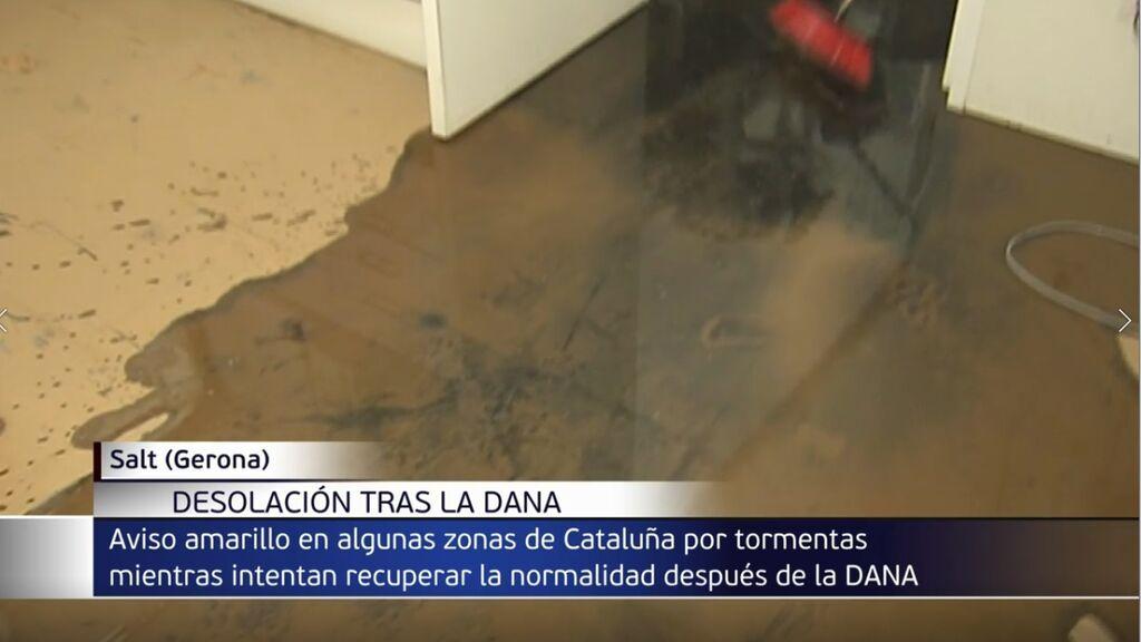 Baleares y Cataluña mantienen todavía las alertas por lluvias torrenciales en las últimas horas de la DANA