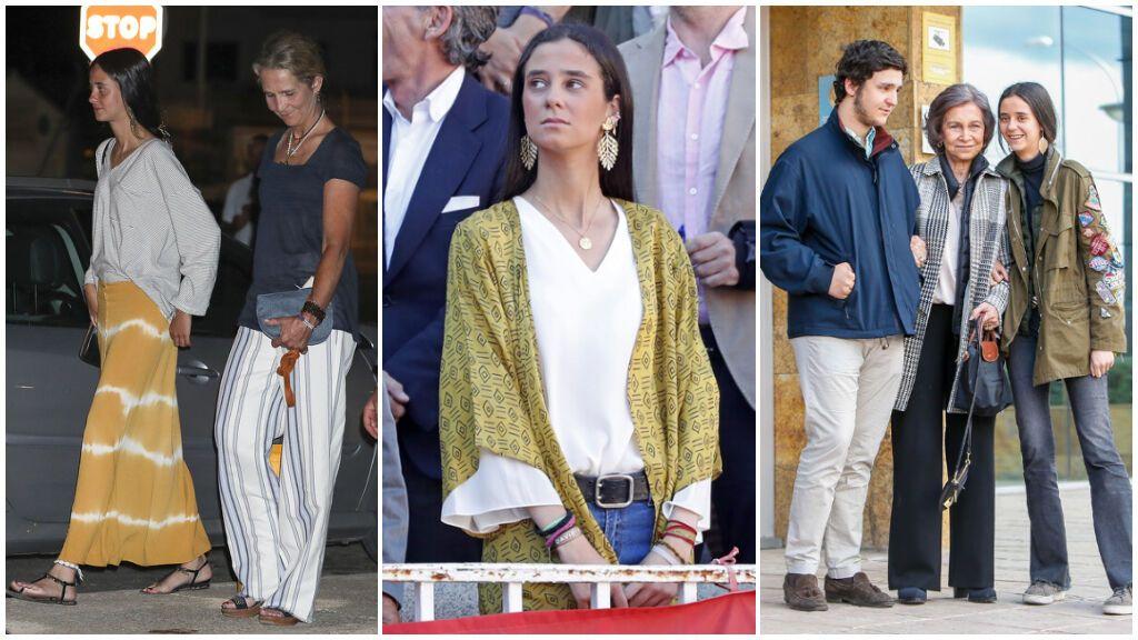 Así ha evolucionado el estilo 'boho chic' de Victoria Federica en los últimos años: de su falda tie dye a los chalecos largos y las parkas militares.