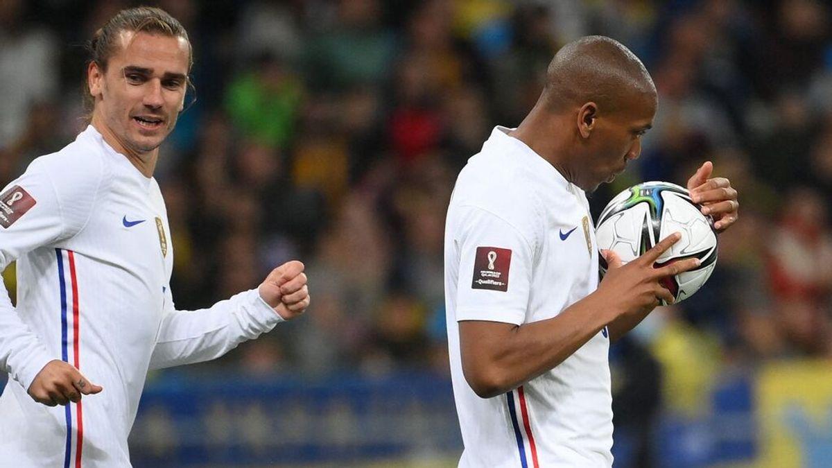 Ucrania - Francia: así fue el minuto a minuto del partido (1-1)