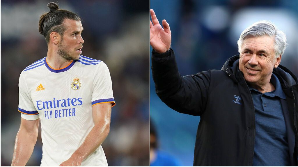 """Bale, contento con la vuelta de Ancelotti: """"En el Madrid hay un mejor ambiente para mí este año"""""""