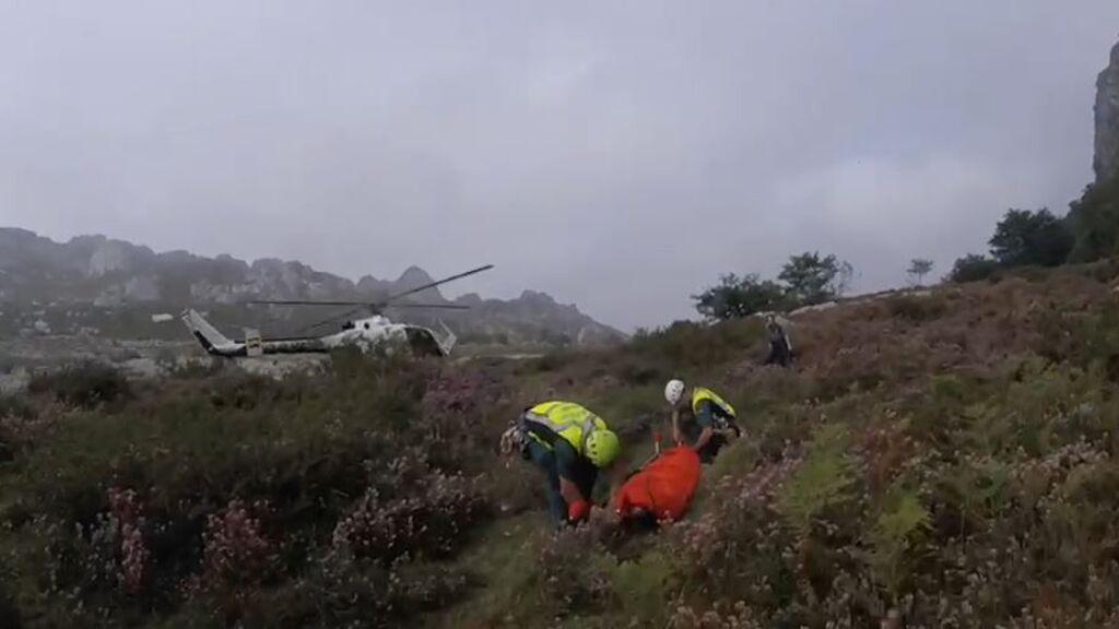 Mueren dos mujeres tras despeñarse cuando realizaban una ruta en Cantabria