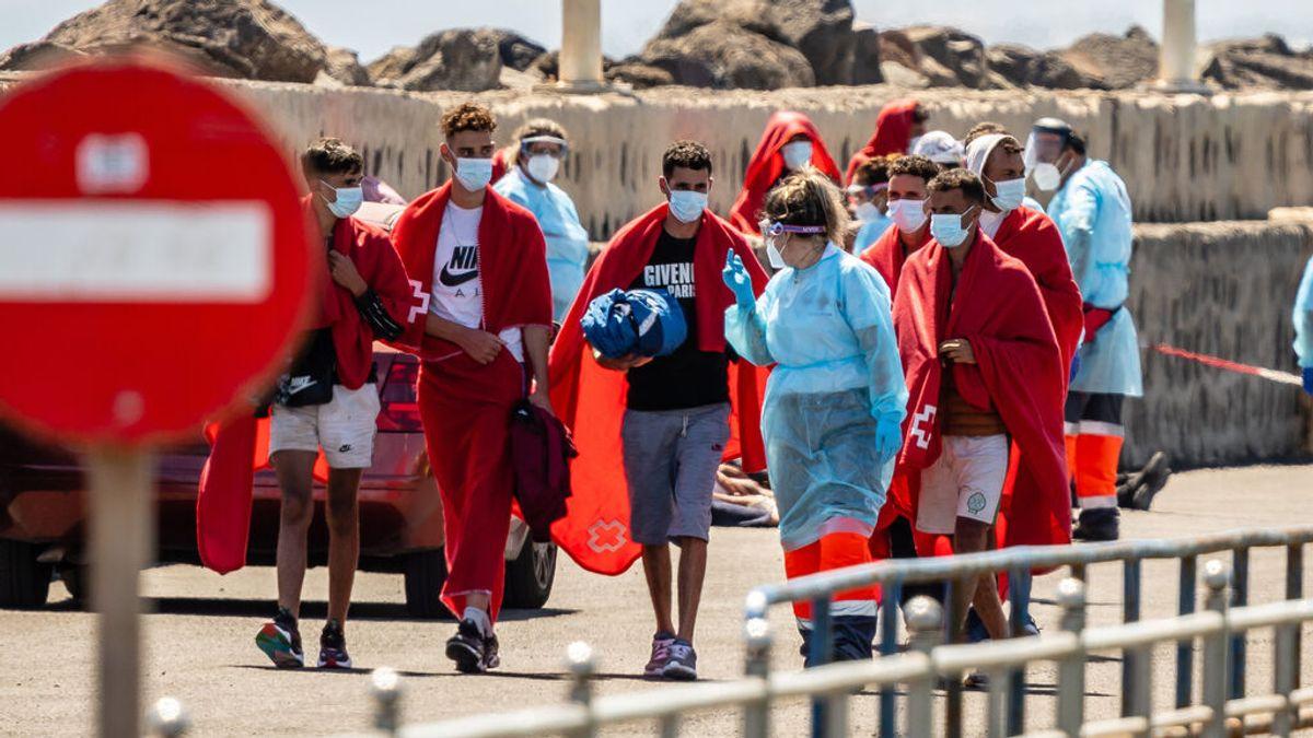 Más de 500 migrantes llegan en patera a las costas españolas en menos de 24 horas