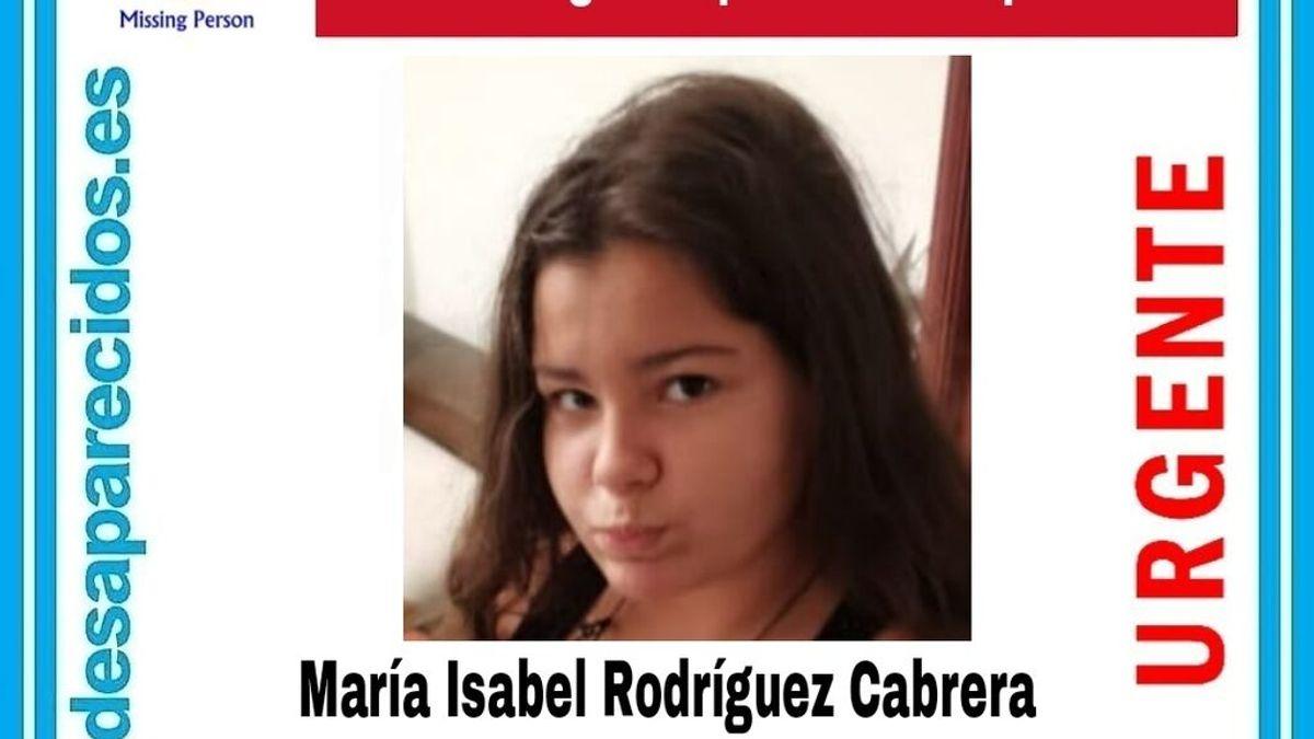 Buscan a María Isabel Rodríguez Cabrera, una menor de 14 años desaparecida en Las Palmas