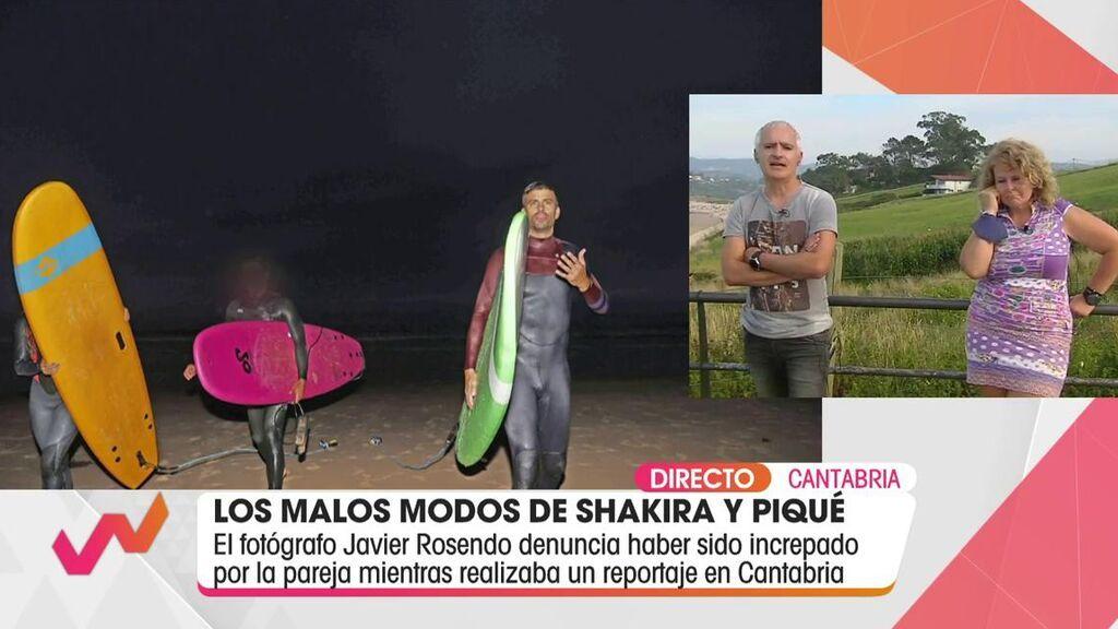 Habla el fotógrafo increpado por Piqué