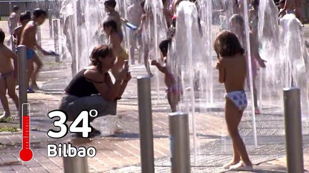 El calor se impone en el norte de España con más de 35 ºC y noche tropical