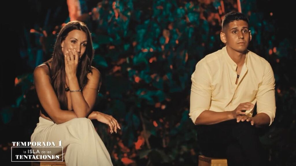 Fani y Christofer en 'La isla de las tentaciones 1'